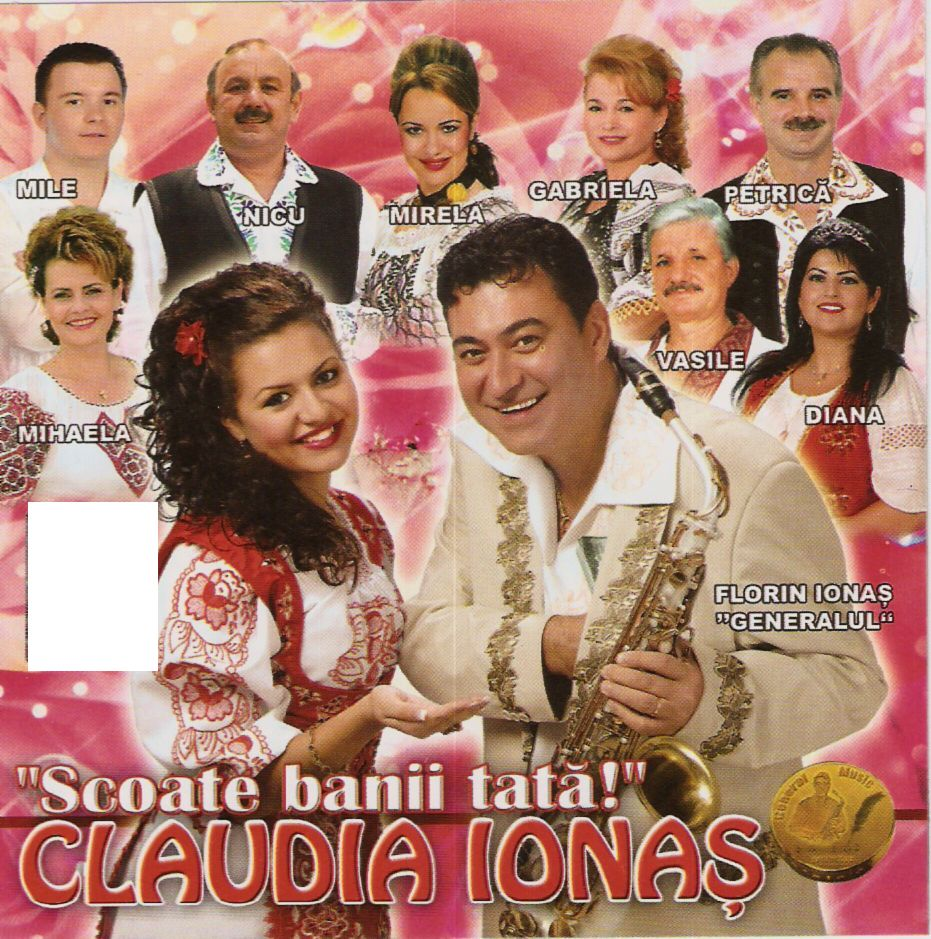 Claudia Ionas - Scate banii tata CD Original 2011