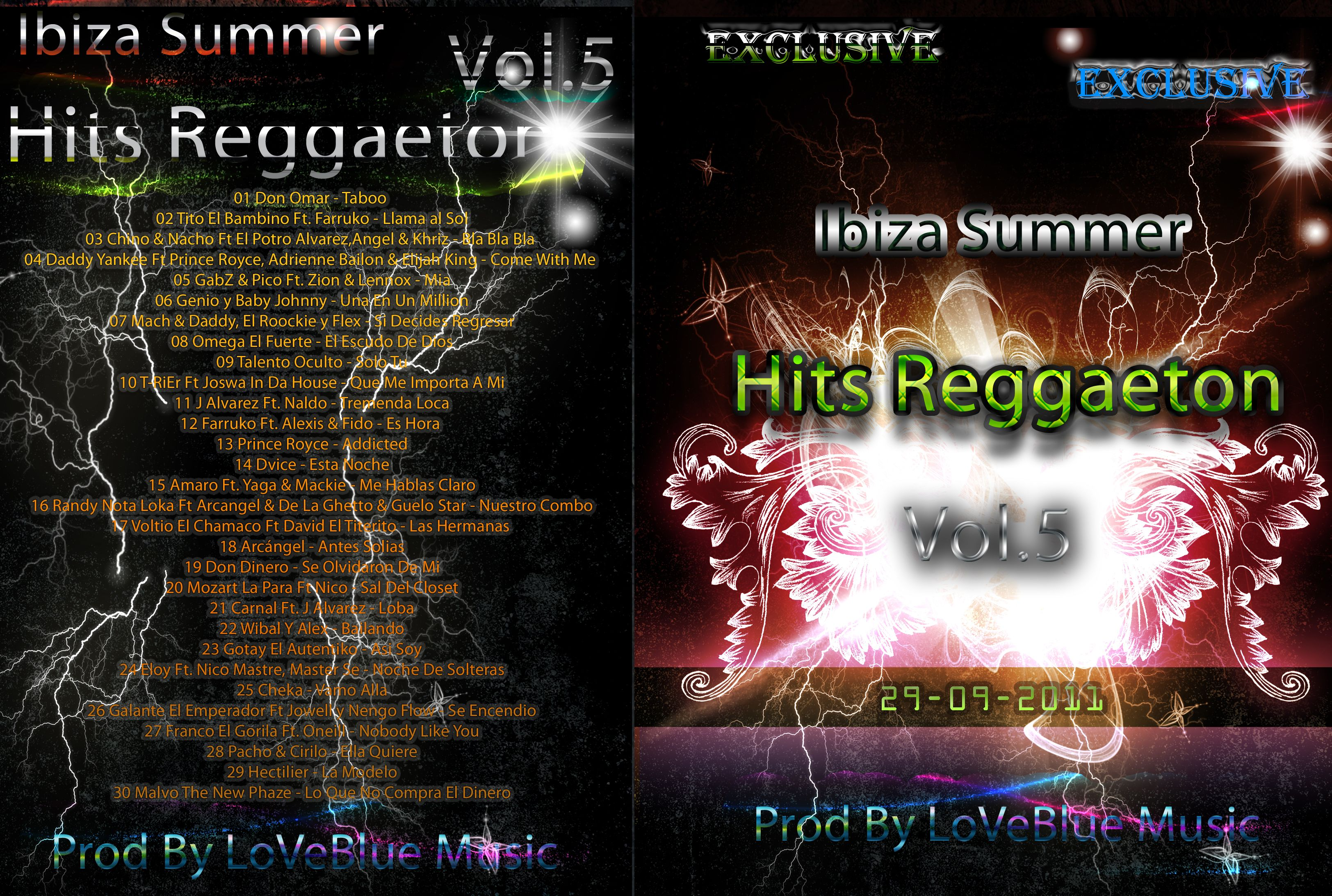 V.A - Ibiza Summer Hits Reggaeton Vol.5 2011 (CD ORIGINAL)