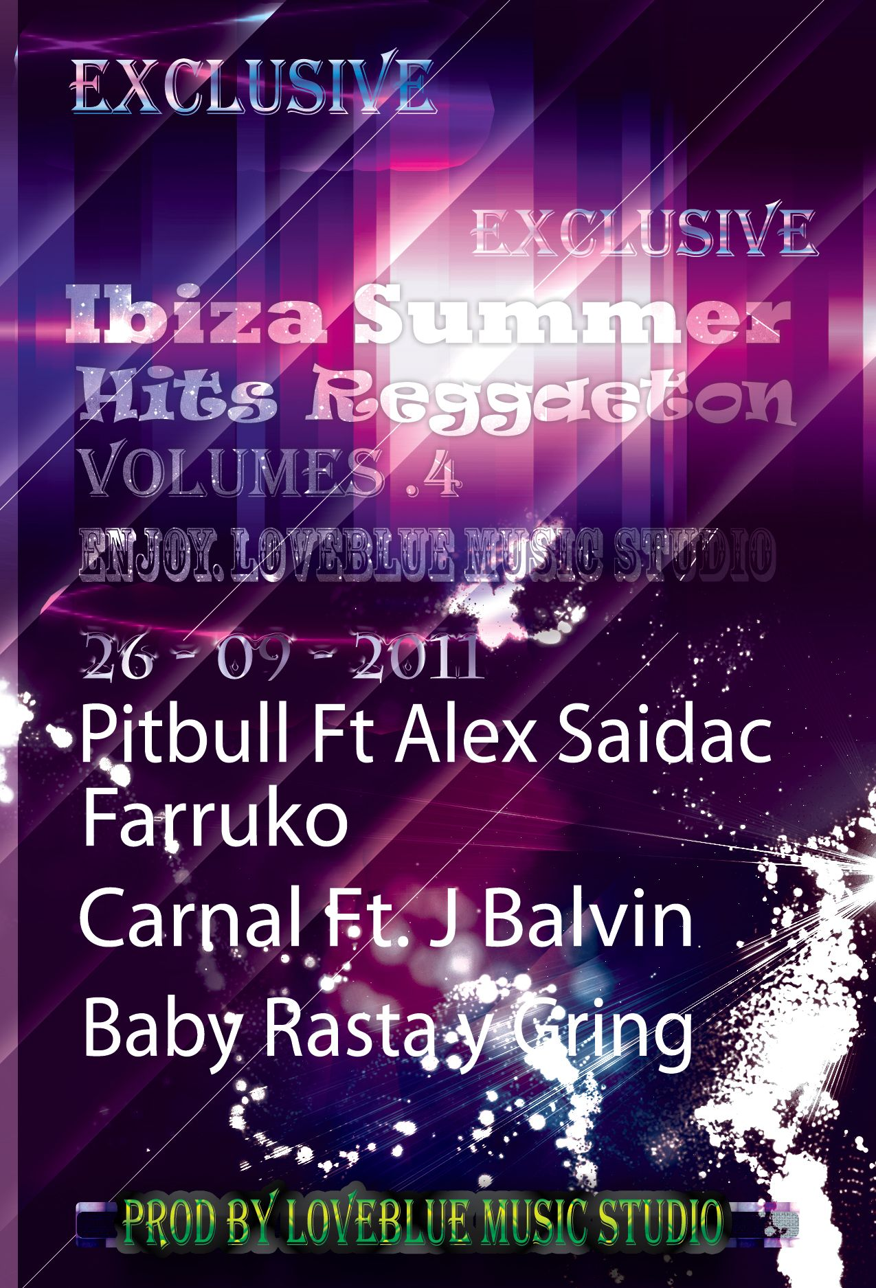 V.A - Ibiza Summer Hits Reggaeton Vol.4 2011 (CD ORIGINAL)