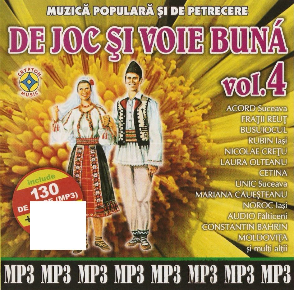 De joc si voie buna vol.4 CD Mp3 2011
