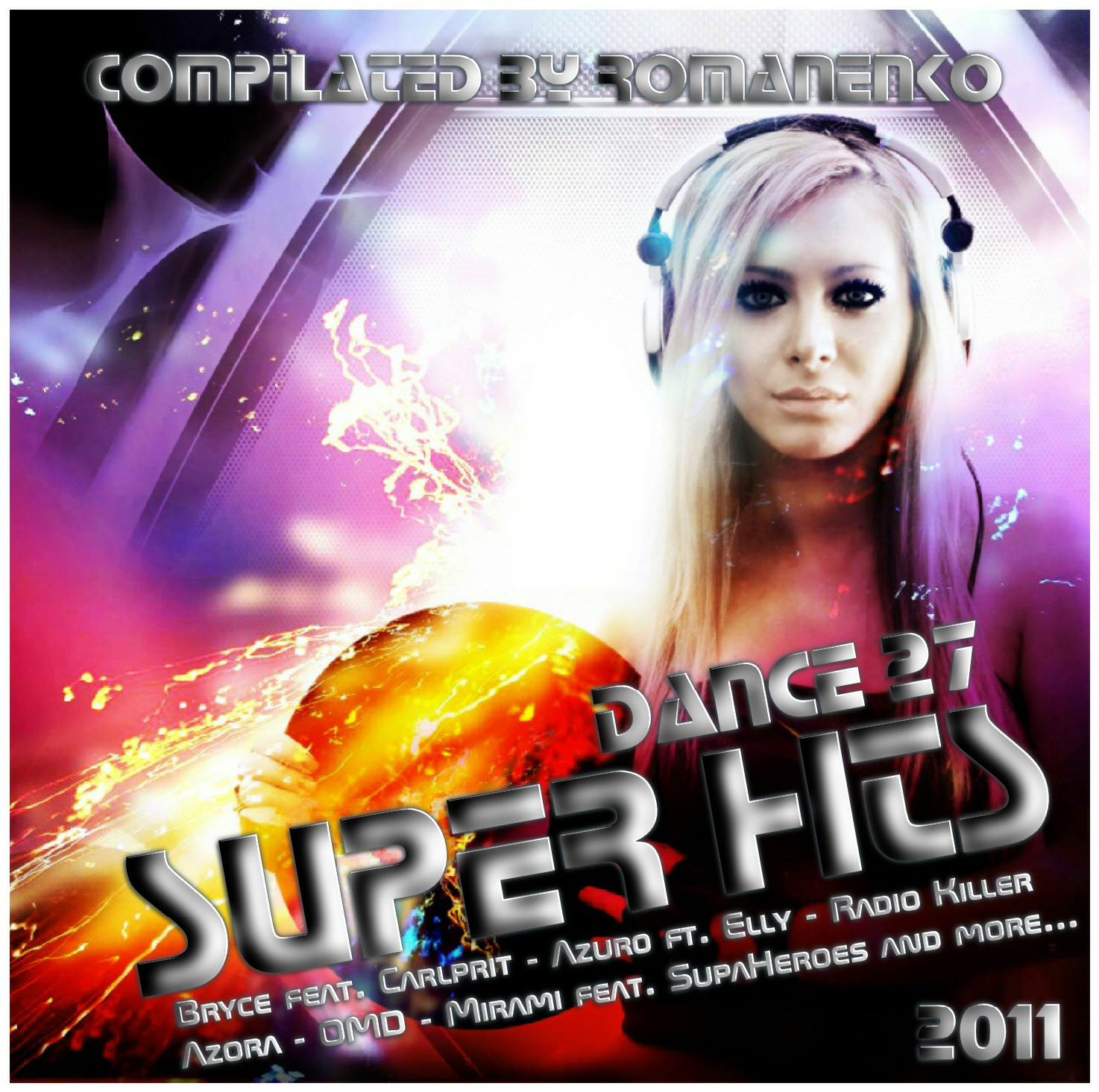 V.A - Super Hits Dance Vol 27 2011 (CD ORIGINAL)