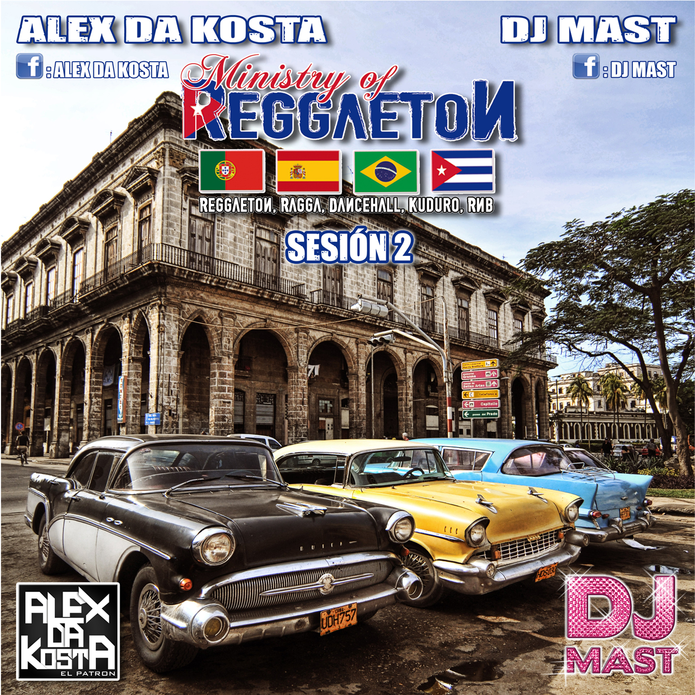 V.A - Ministry Of Reggaeton Vol.2 2011 (CD ORIGINAL)