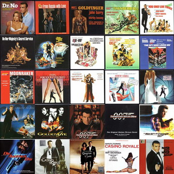 VA - James Bond 007: Soundtrack Collection (1962-2011) (25CD Set)