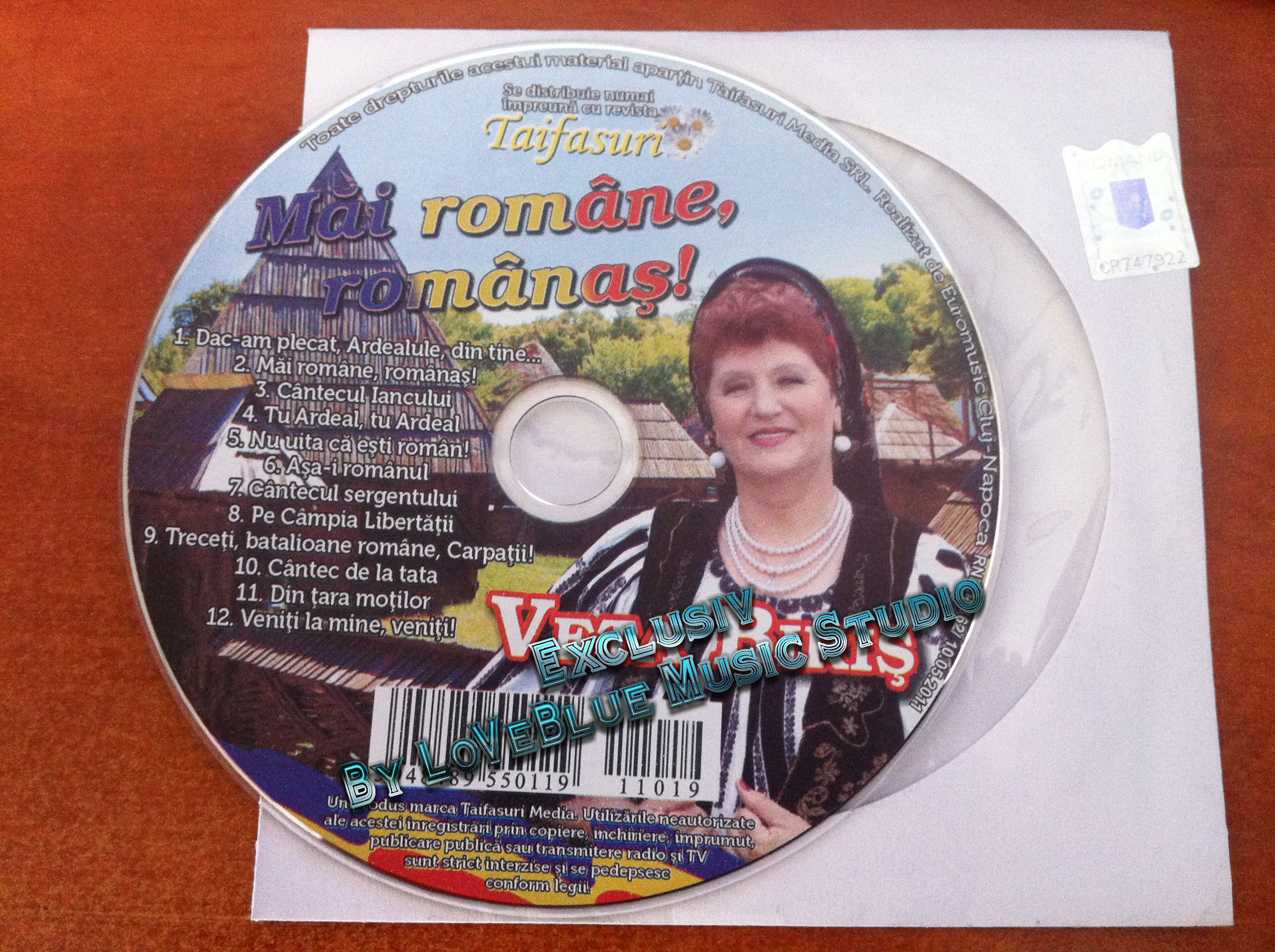 Veta Biris - Mai Romane , Romanas! Exclusive 2011 (CD ORIGINAL)