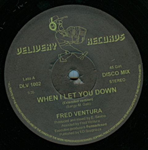 Fred Ventura - When I Let You Down