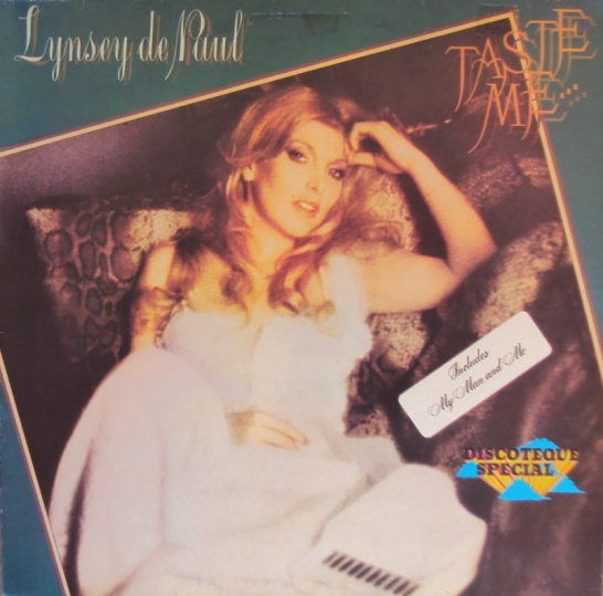 Lynsey De Paul - Taste Me...Don't Waste Me (vinyl LP)