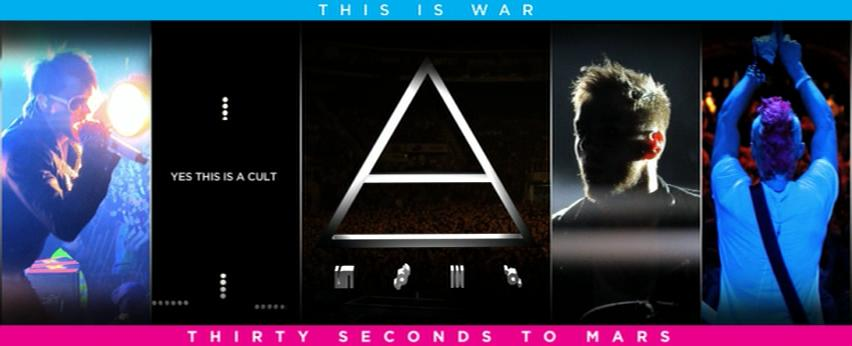 30 Seconds To Mars This Is War Deluxe Edition 2010 Bonus DVD