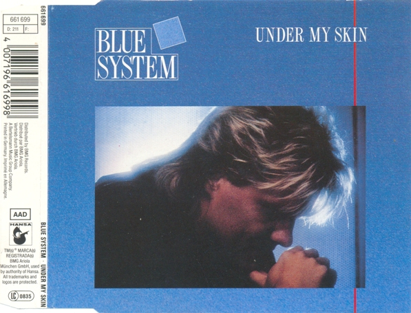 Blue System - Under My Skin (CDM)