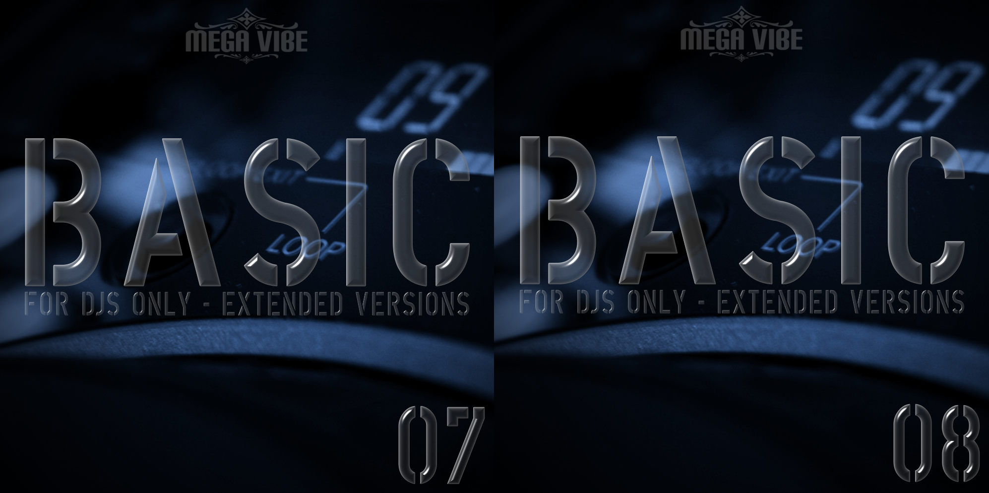 V.A - Mega Vibe Basic Series Vol.7,8 2011 (CD ORIGINAL)