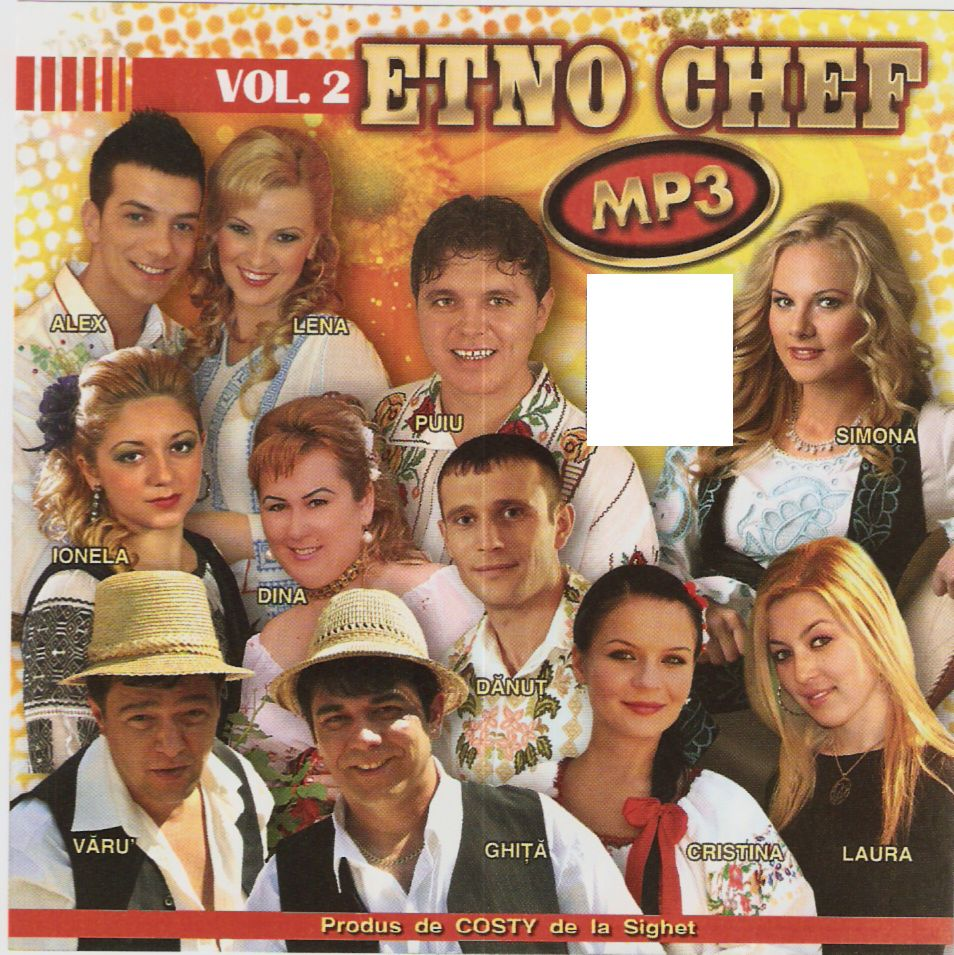 Etno Chef Mp3 Vol. 2 CD Original 2011