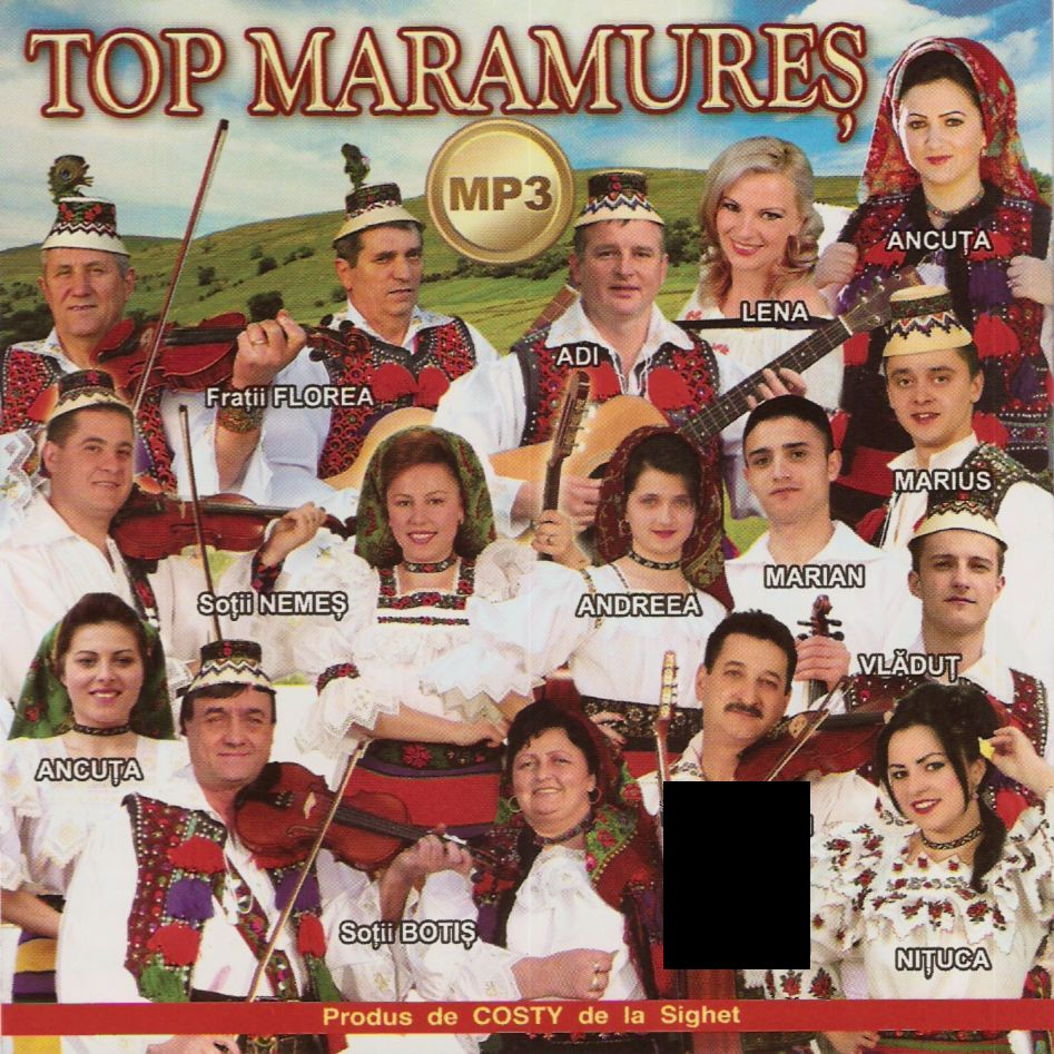 Top Maramures Mp3 CD Original 2011