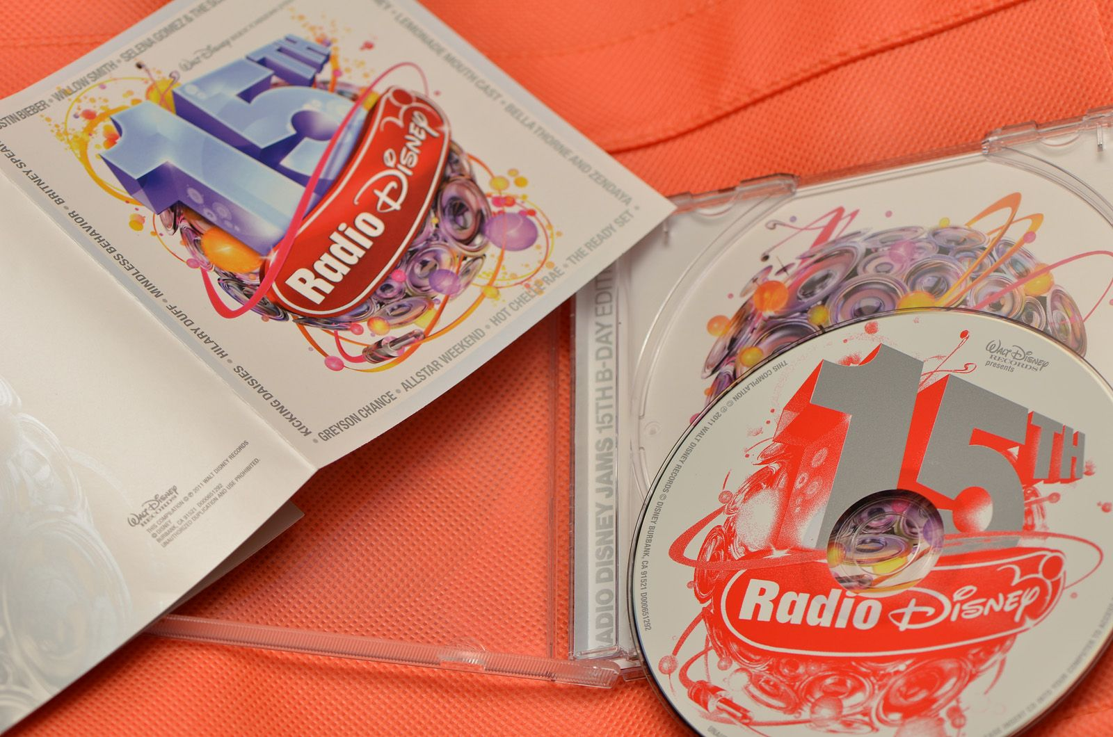 VA - Radio Disney Jams 15th B-Day Edition 2011 (CD ORIGINAL)