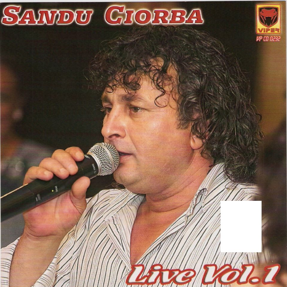 Sandu Ciorba live vol. 1 CD Original 2011