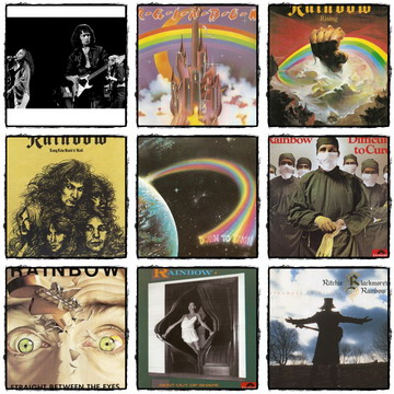 Rainbow - Discography - Original Masters CDs Collection (1975-1995)