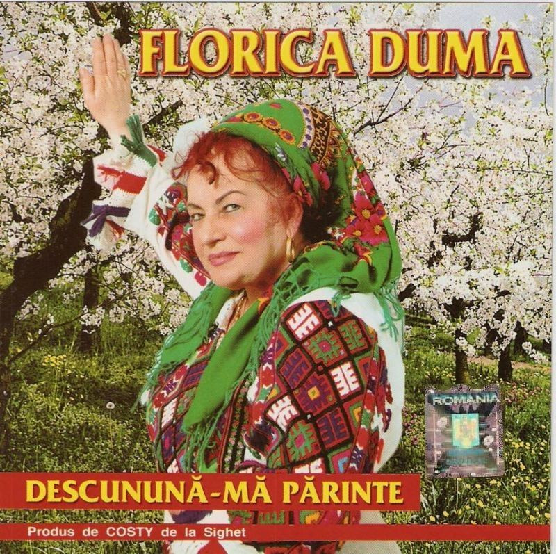 Florica Duma - Descununa-ma Parinte 2011 (CD ORIGINAL)