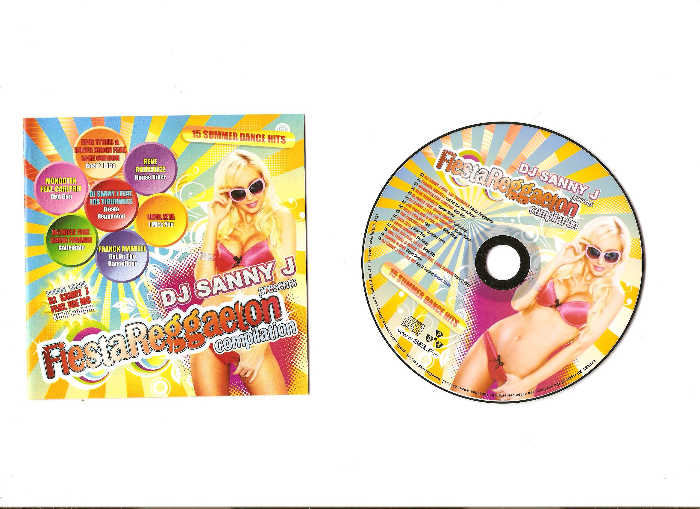 VA - Fiesta reggaeton Compilation 2011 (CD ORIGINAL)