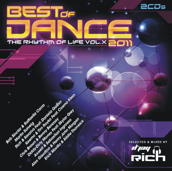 Best Of Dance 2011: The Rhythm Of Life Vol. X (2011) (2CD)