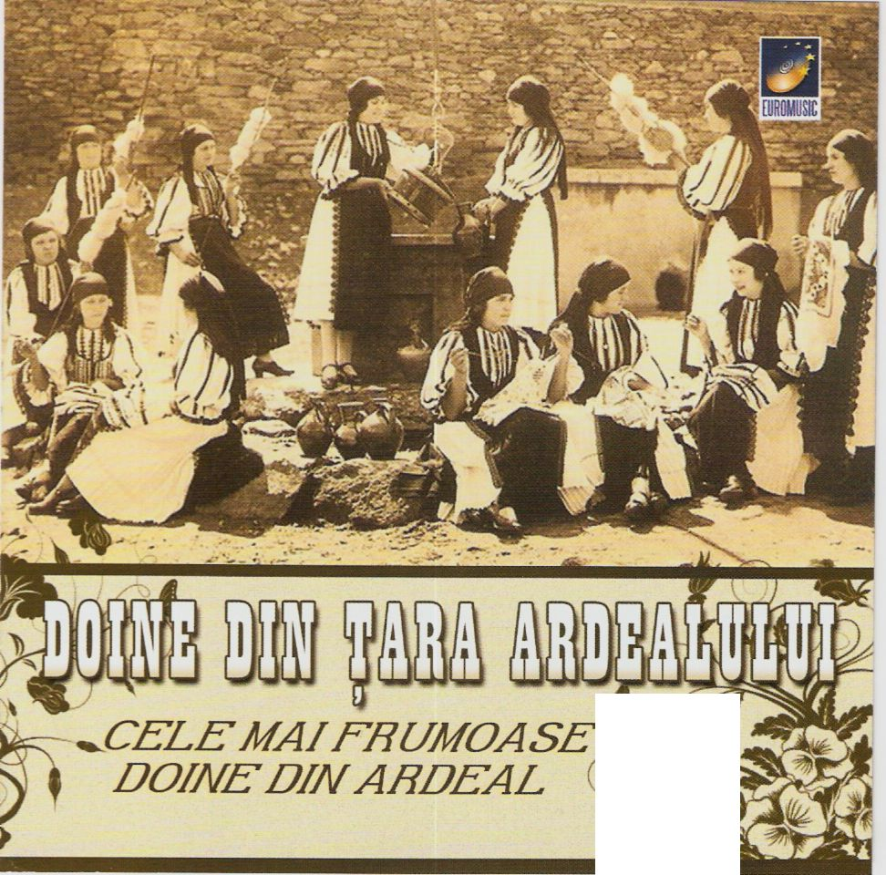 Doine din Tara Ardealui CD Original 2011