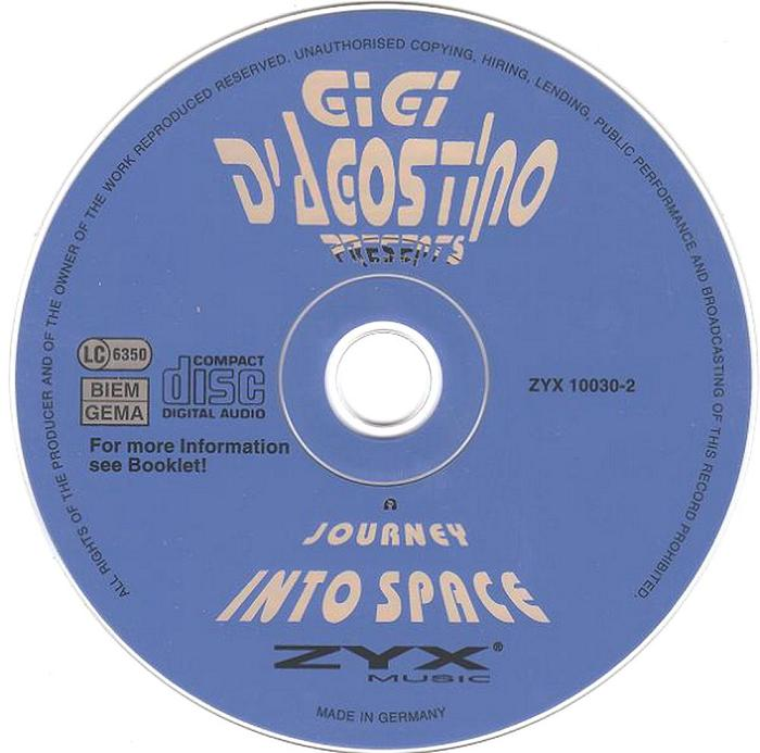 Gigi D'Agostino – A Journey Into Space (1996)