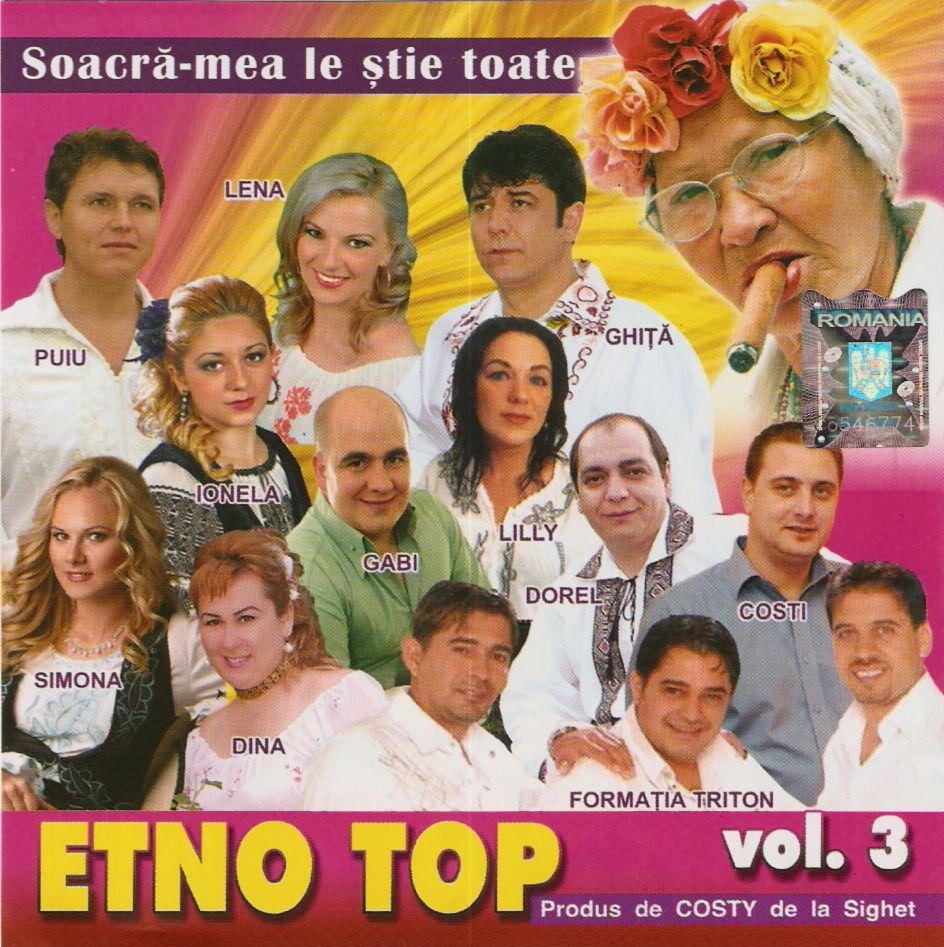 VA - Etno Top vol. 3 CD Original 2011