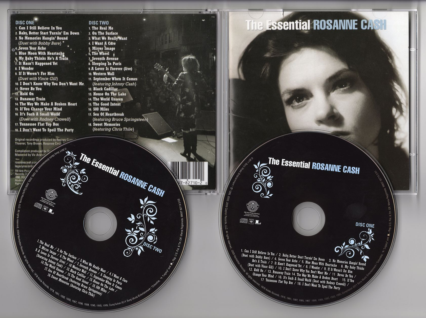 Rosanne Cash - The Essential Rosanne Cash 2CD 2011 (CD ORIGINAL) EXCLUSIV