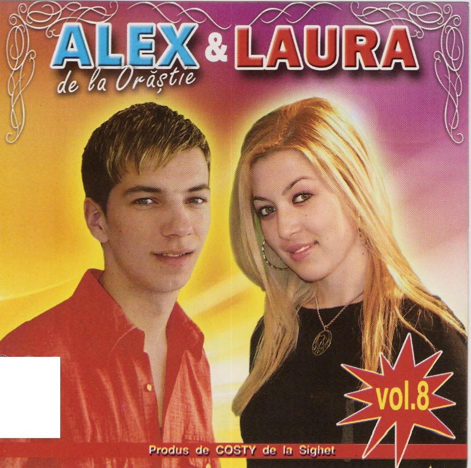 Alex de la Orastie si Laura vol.8 CD Original 2011