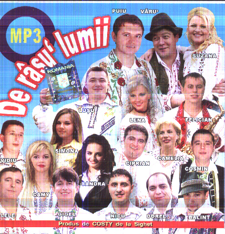 De Rasu Lumii 2011 Mp3 ( CD ORIGINAL)