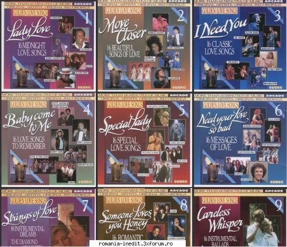 Golden Love Songs Vol.01 - Vol.20 (2007) !! 20 CD !!