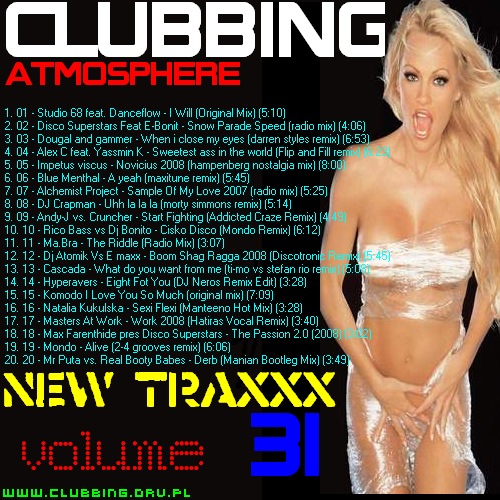 CLUBBING ATMOSPHERE New Traxxx vol.31