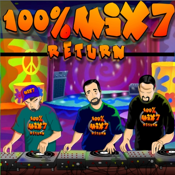 100% Mix 7 Return Megamix (Full version 2CD)