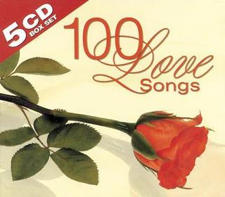 Various Artists - Top 100 Pop Love Songs These Days - 5CD - 2008
