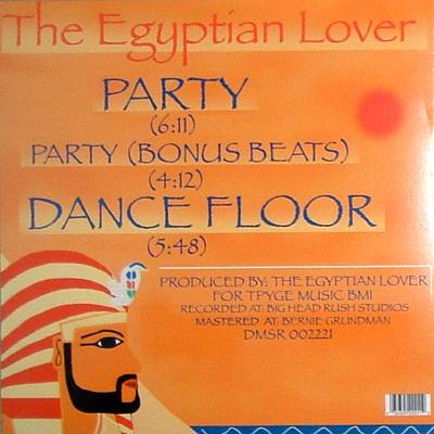 Egyptian Lover - Party 12''