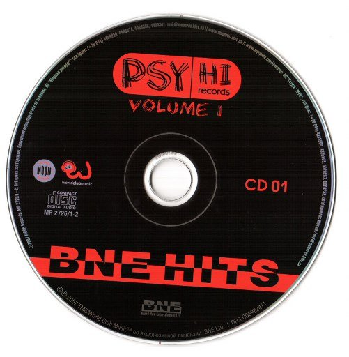 Psy Hi Vol1 CD1 (2008)