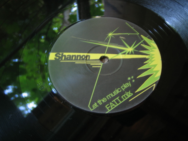 Shannon - Let The Music Play (Onesided Bootleg Vinyl) 2006