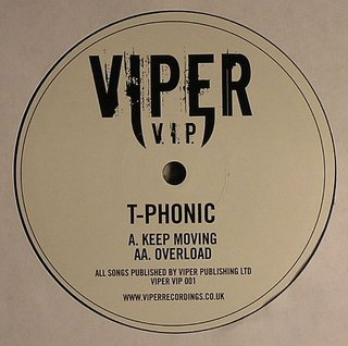 T-Phonic - Keep Moving / Overload