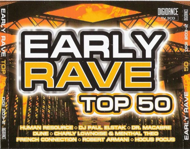 Early Rave Top 50 - 3CDs