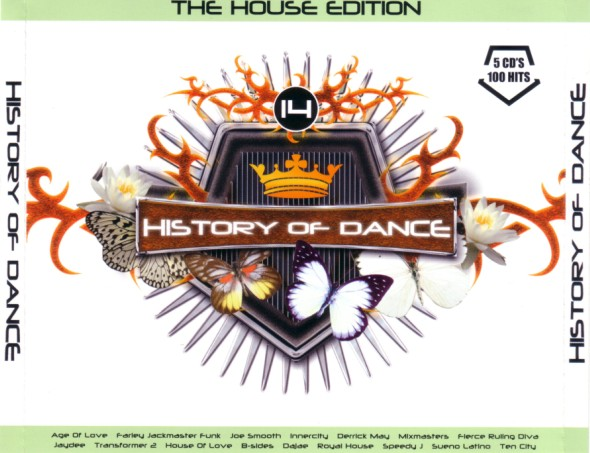 VA - History Of Dance - 14 - The House Edition
