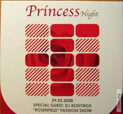 "Fabrique"" club: Princess Night - Special Guest: dj Bodyrox - mixed by Player & Remady"