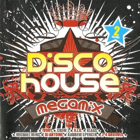 Disco House Megamix Vol 2 2CD 2008