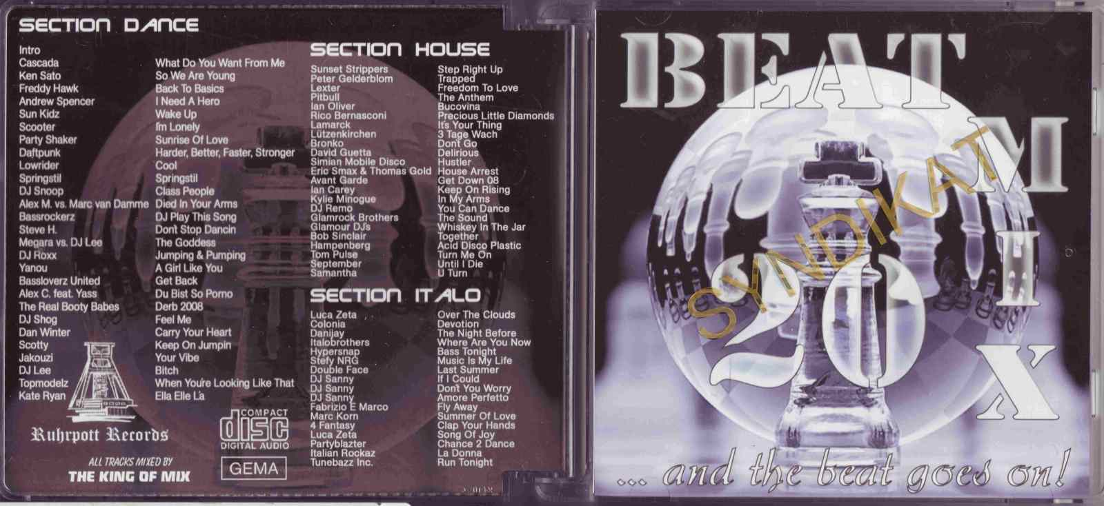 VA - Beat Mix Vol.20 2008