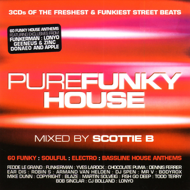VA -VA - Pure Funky House : 3CD