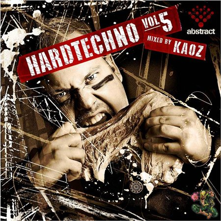 Cover Album of HARD TECHNO Vol. 5 mixed by KAOZ - 2008