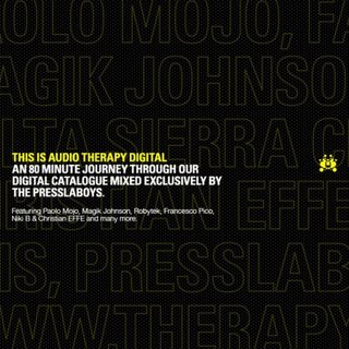Cover Album of VA - This Is Audio Therapy Digital (Mixed By The Presslaboys) [2008]