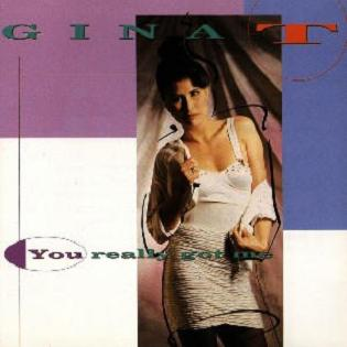 Gina T - You Really Got Me 1991
