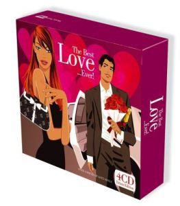 The Best Love Ever 4CD (2008)