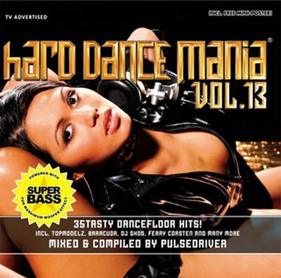 VA - Hard Dance Mania Vol 13 Mixed By Pulsedriver - 2CD (2008)