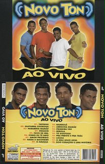 NOVO TON-AO VIVO(CD ORIGINAL)