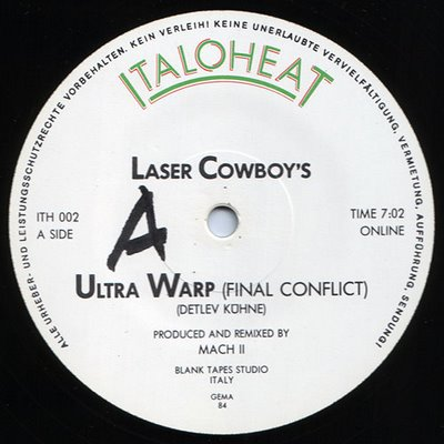 Laser Cowboys - Ultra Warp (The Final Conflict) (1984)