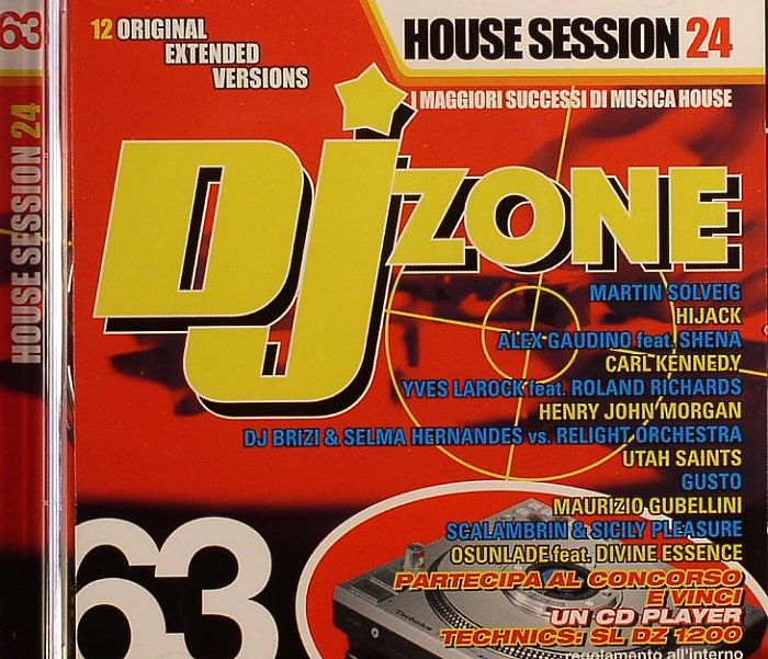 DJ Zone (House Session Vol 24) 2008