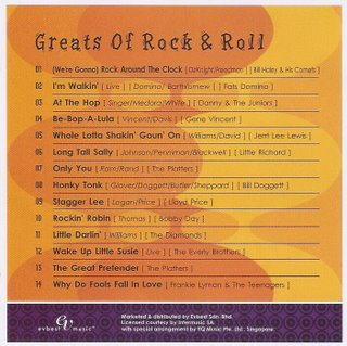 Various Artists - Greats Of Rock N Roll - 2008